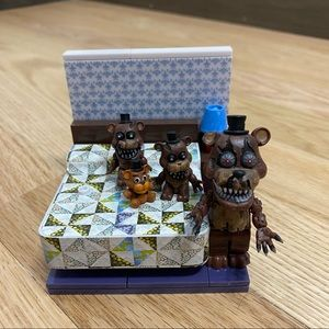 Five Nights at Freddy's The Bed Construction Set
